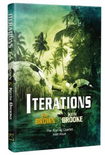 Iterations [hardcover] by Eric Brown & Keith Brooke
